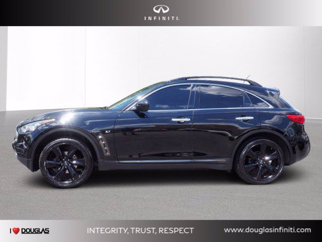 Certified Pre-Owned 2017 INFINITI QX70 AWD