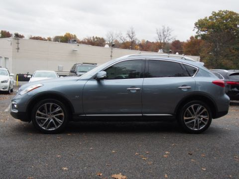 Certified Pre-Owned 2017 INFINITI QX50 4DR AWD