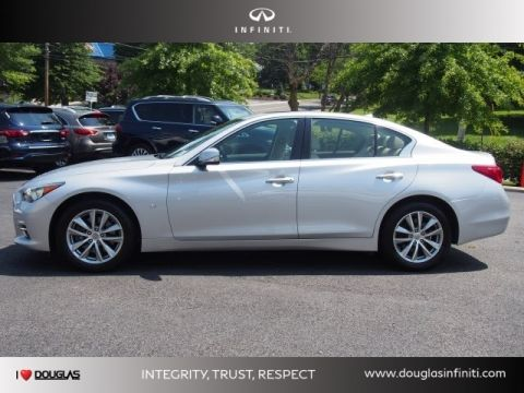 Certified Pre-Owned 2015 INFINITI Q50 4DR SDN AWD