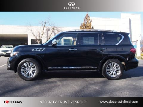 Pre-Owned 2016 INFINITI QX80 SIGNATURE EDITION AWD